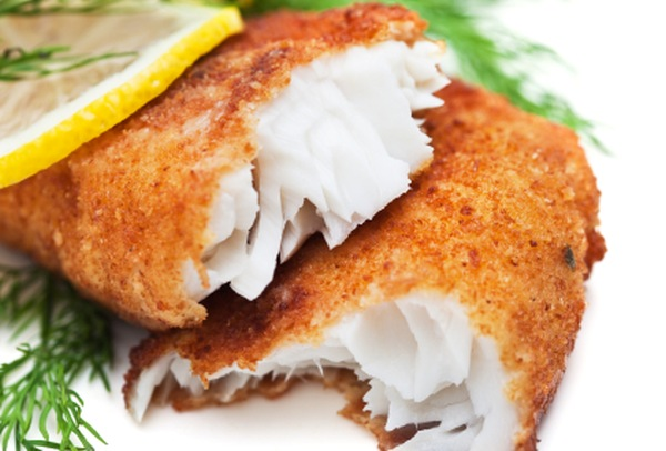 fish crumbed
